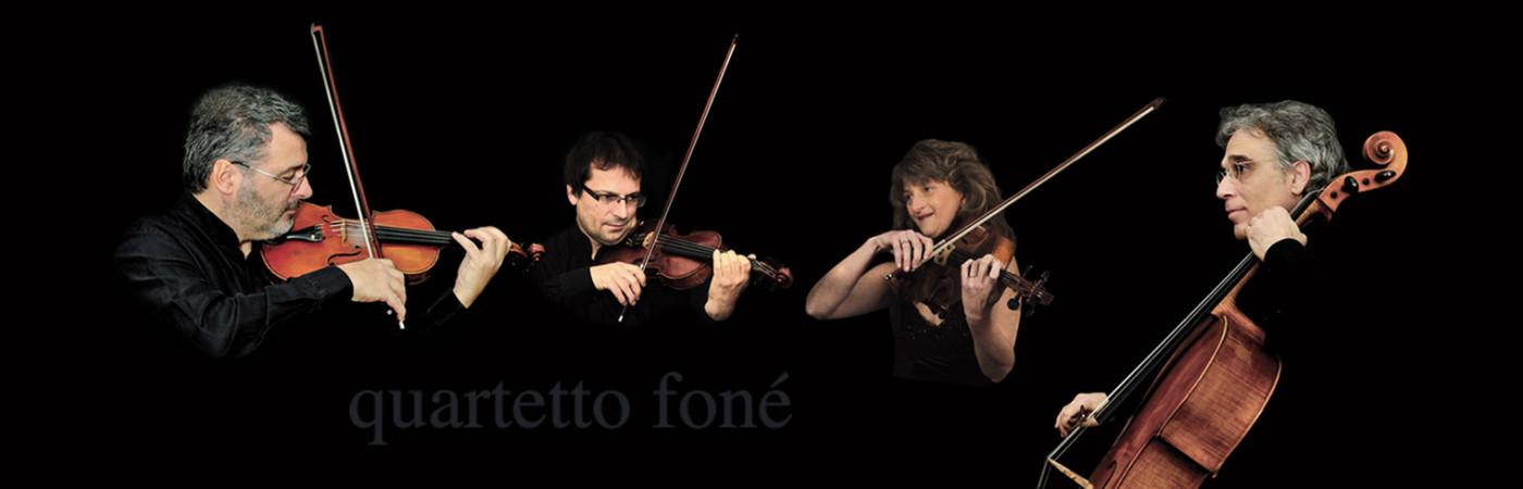 Quartetto Foné - formazione d'archi per musica da camera